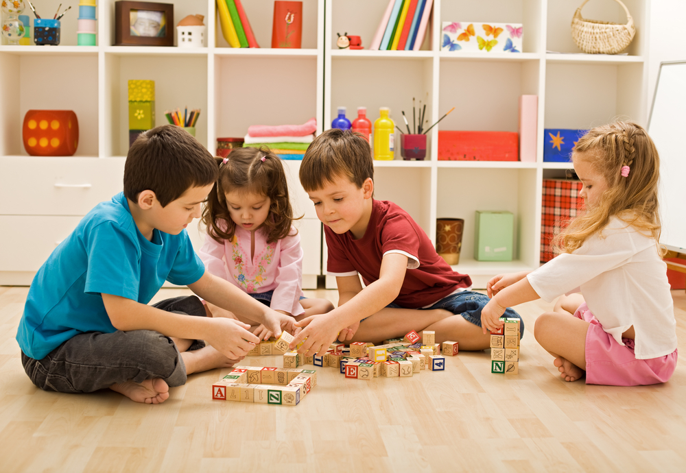 Play Therapy - Children Playing